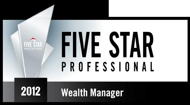 Five Star Professional Winner 2012